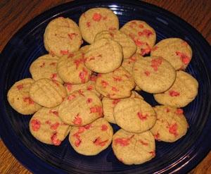 yoghurt-drop cookies